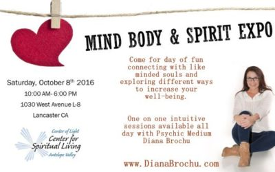 Mind Body & Spirit Expo Lancaster California