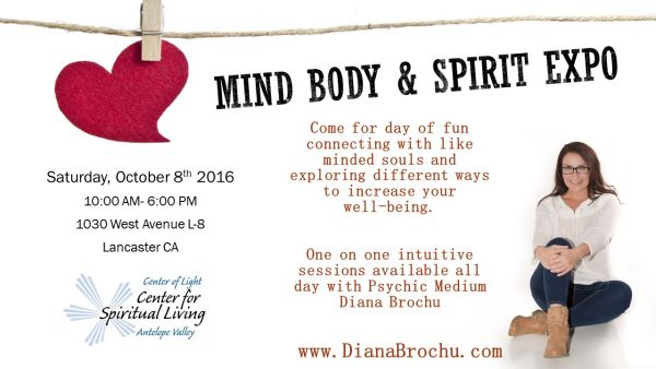 Mind Body & Spirit Expo Lancaster California