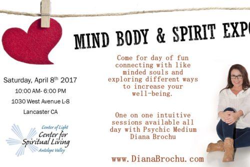 Mind, Body & Spirit Expo Lancaster CA