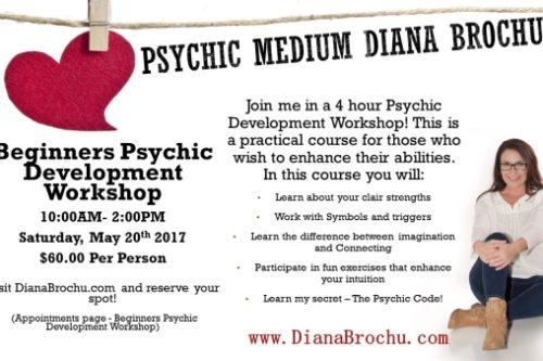 Beginners Psychic Development Workshop