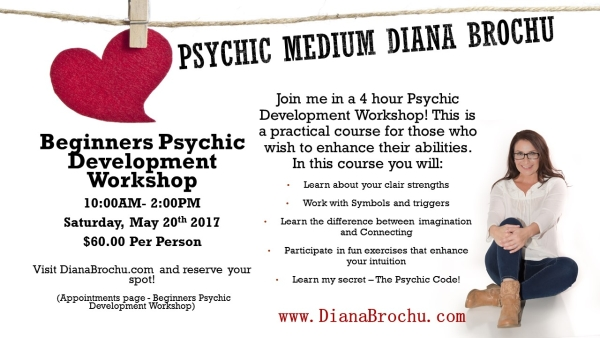 Beginners Psychic Development Workshop